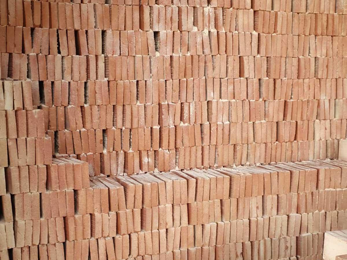 Briques cuites