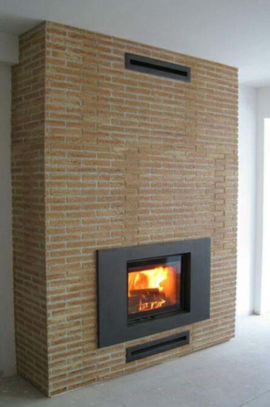 Chimney made of Castilian brick