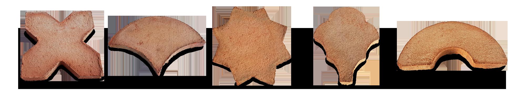Bordure rustique pièces spéciales